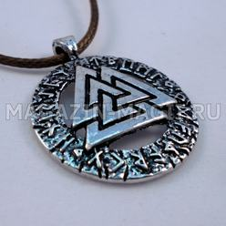 "The Amulet ""Valknut"""
