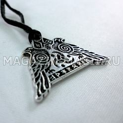 "The Amulet ""Ravens Of Odin"""