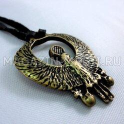 "Amuleto egipcio real buitre"""