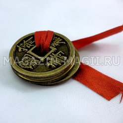Amulet Chinese Coins of happiness фото