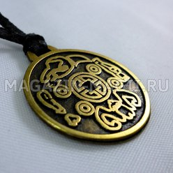 "The amulet ""Korean coin of happiness"""