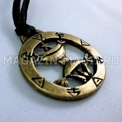 Amulet pentacle Queen high destiny