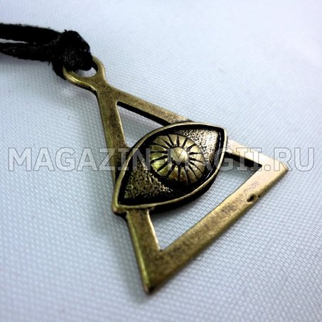 the Amulet is the Eye of divine Wisdom