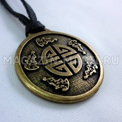 The amulet is a symbol of the Five blessings