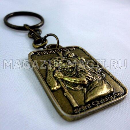 Амулет Медальон Святой Христофор