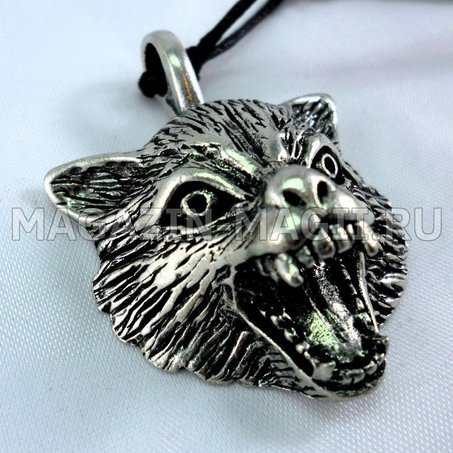 the Amulet is the sign of the wolf