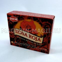 "Incense cones ""Red rose"""