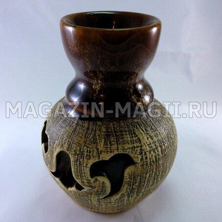 Аромолампа Vase Шликерная