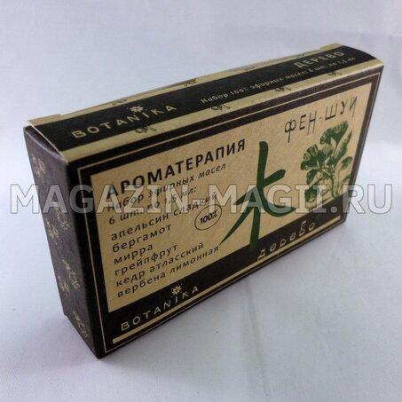 um Conjunto de óleos de feng shui para a Árvore de