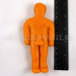 Восковая кукла вольт мужская оранжевая