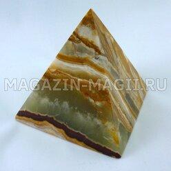 Пирамида из оникса (7*7*7.5 см)
