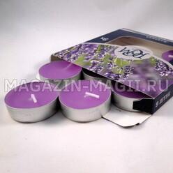 Kerze Teestube «Lavendel» (9 Stück) фото