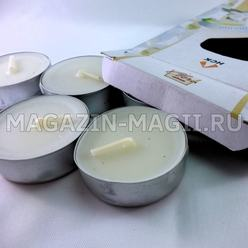 Tea candle 'Magnolia' (6pcs.)