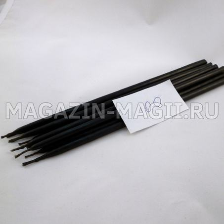 Свечи восковые черные №100 маканые