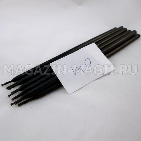 Cвечи восковые черные №140 маканые