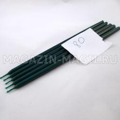 Candele di cera di smeraldo n ° 80 (5 pz, маканые)