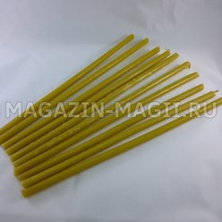 Church candles wax No. 20 (10pcs.)