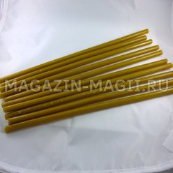 Church candles wax No. 40 (10pcs.)