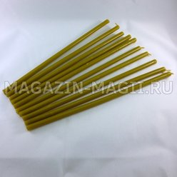 Church candles wax No. 130 (10pcs.)